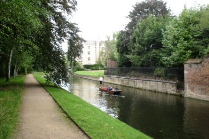 River Cam in Cambridge