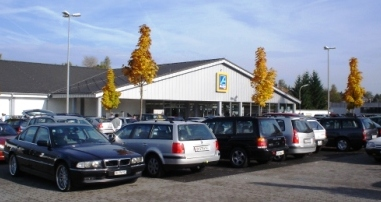 Grosser Aldi in Jestetten