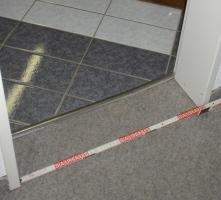 Badezimmertür nur 59 cm breit