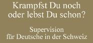 Coaching und Mediation für Deutsche in der Schweiz
