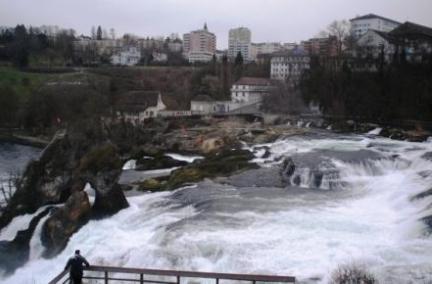Rheinfall im Winter