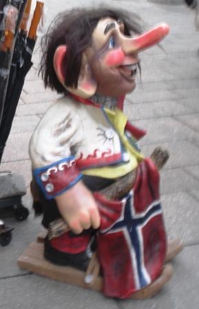 Troll als Souvenir in Oslo